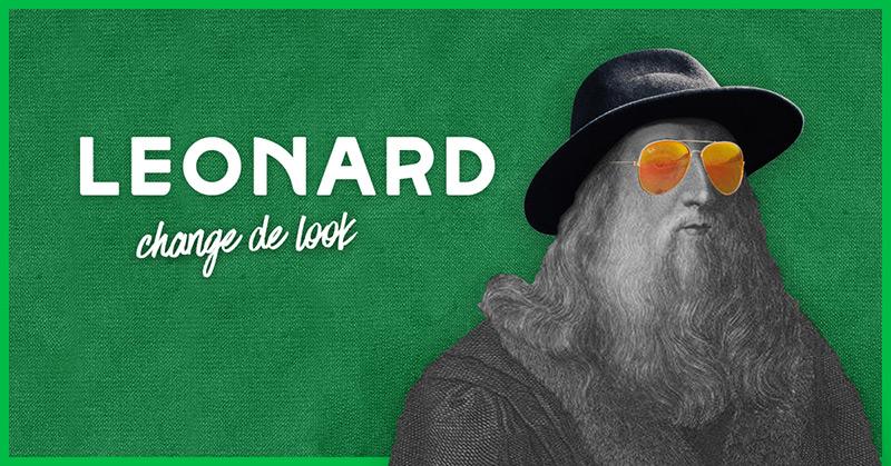 Nouveau logo Leonard