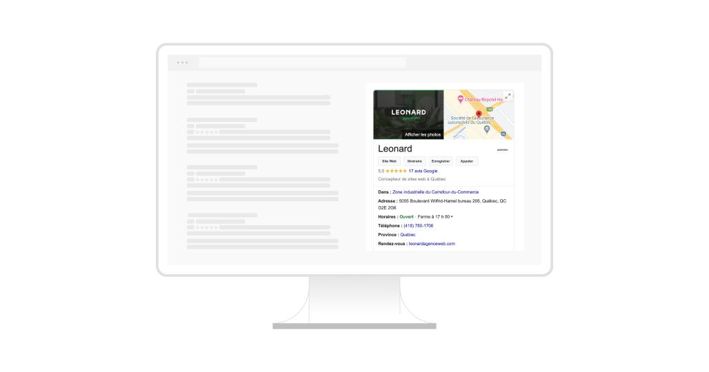 Créer une fiche Google My Business