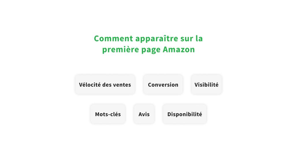 Facteurs pour vendre plus de produits sur Amazon