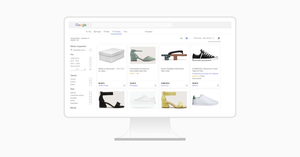 Utiliser google shopping pour le e-commerce