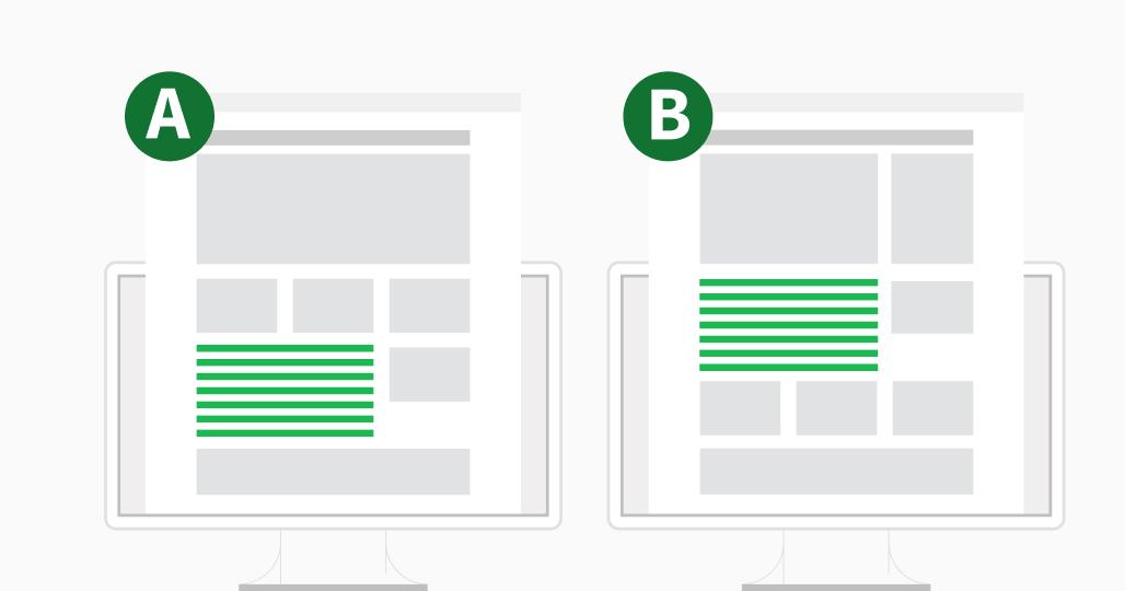 test a/b dans le marketing par courriel